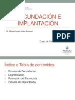 34. Fecundación, Implantación y Desarrollo Del Embrión_Dr. Motta