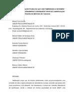 Estudo Da Retificação Plana Do Aço 4340 Temperado e Revenido Com Geometria Interrompida e Diferentes Tipos de Lubrificação Através Do Método de Taguchi_artigo