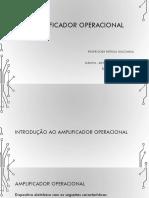 1 - Amplificador Operacional - Introdução
