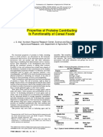 Properties of Proteins Contributing