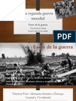 Fases Segunda Guerra Mundial