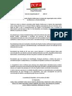 Congratulação Pelos Esforços Encetados Nações Unidas Para o Reinício Das Negociações Entre Marrocos e a Frente Polisário