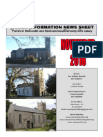 PINS - News from the parishes of Newcastle & Newtownmountkennedy with Calary, in east Co. Wicklow.