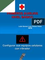 Primeros Auxilios Upel manual