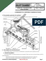 Systeme de Conditionnement de Comprimes Pharmaceutiques (1)