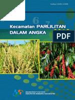 Kecamatan Parlilitan Dalam Angka 2018