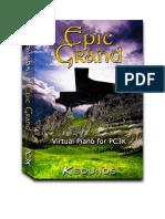 Epic Grand PC3K User Guide