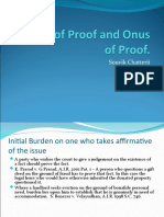 Burden and Onus