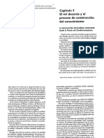 01 - Capítulo 5 - El Rol Docente y El Proceso de Construcción Del Conocimiento