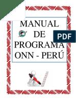 Manual Operación NIño de la Navidad