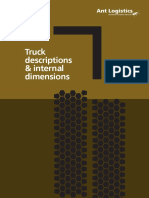 Dimensions of Trucks
