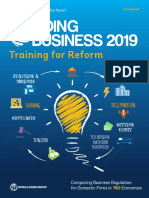 Ease of Doing Business Report 2019 by World Bank