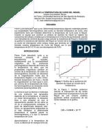 Determinacion de La Temperatura de Curie Del Niquel