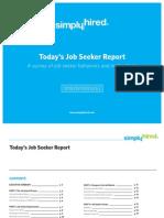 Todays Job Seeker Report