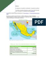 Extensión de México