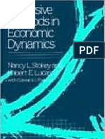 Recursive Methods in Economic Dynamics-Stokey