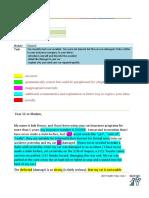IELTS General Task 1 Formal Letter Sample Feedback Band 6