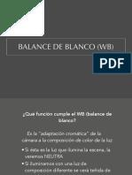 7 Ficha 7.2 Balance de Blanco V_1