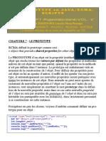 Javascript Tome Xvii - Prototype en JavaScript