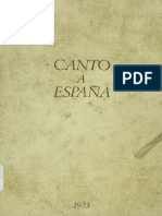 Canto a Espana