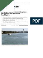 Europa y los jueces rechazan los planes del Gobierno para gestionar el Guadalquivir (Eldiarioes, 01-04-15)