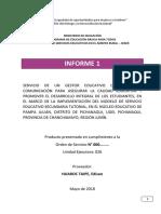 Informe 2 ODS