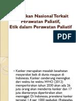 2. Etik Dalam Perawatan Paliatif, Kebijakan Nasional
