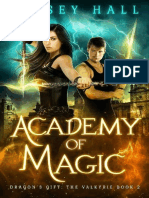 Academy of Magic- Linsey Hall