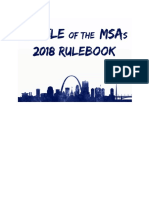 2018 battle of msas rulebook
