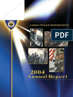 Annual Report Akron PD 2004