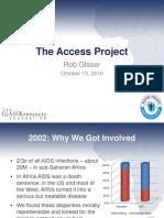 Rob Glaser remarks, Bay Area Global Health Summit
