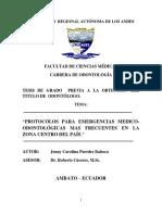 Protocolo de Cuadros de Situaciones de Emergencia