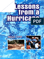 Lessons From a Hurricane