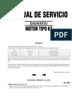 Motor Tipo K3 Terios