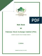 PSX Rule Book