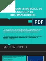 Cobit y Plan Estrategico de Tecnologia de Informacion