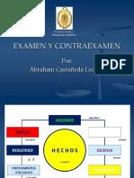 Examen y Contraexamen