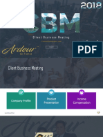 Ardeur Client Business Meeting - Modern
