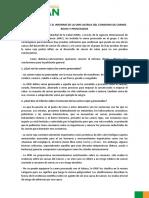 Conclusiones Sobre El Informe de La Oms Acerca Del Consumo de Carnes Rojas y Procesadas Codinan