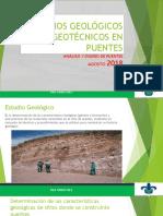 Estudios Geológicos y Geotécnicos en Puentes1