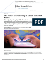 The Future of Well-Being in a Tech-Saturated World