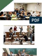 Comportamentos em sala de aula