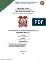Estructuras Metalicas - Salida Huancane