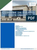 BOLETIN 211 CONSEJO DE ESTADO
