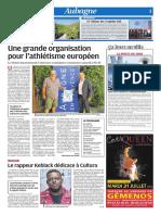 Une grande organisation pour l'athlétisme européen (27/07/18)