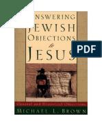 Respondiendo a las objeciones judías a Jesús
