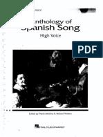 Antologia de Canciones Espanolas