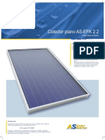 Colector Plano AS-EFK 2.2
