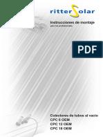Instrucciones de Montaje para el Colector CPC