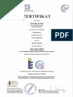 Certificado AS CPC